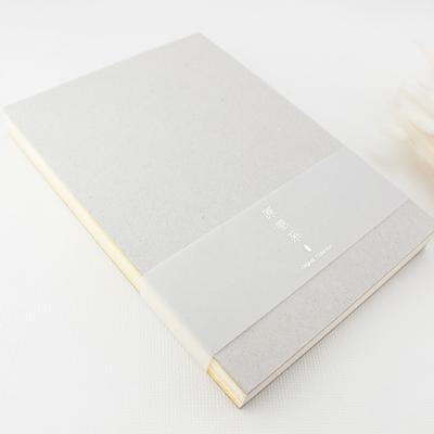 綠的25K原感系鋼筆用黃線線空白筆記