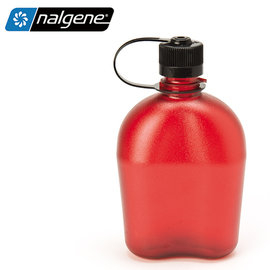 丹大戶外【Nalgene】軍式水壺 1000c.c. PC材質製造 耐用防漏 不含雙酚A 1777-9902 紅色