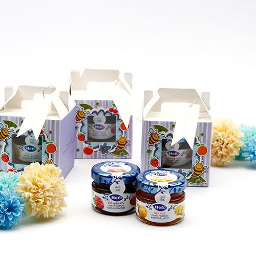 幸福婚禮小物DIY紫愛甜蜜果醬-1組10入果醬探房禮桌上禮送客禮