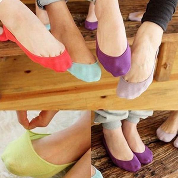 襪子韓版隱形皮筋襪淺口襪舒適親膚運動鞋白布鞋FSW108收納女王