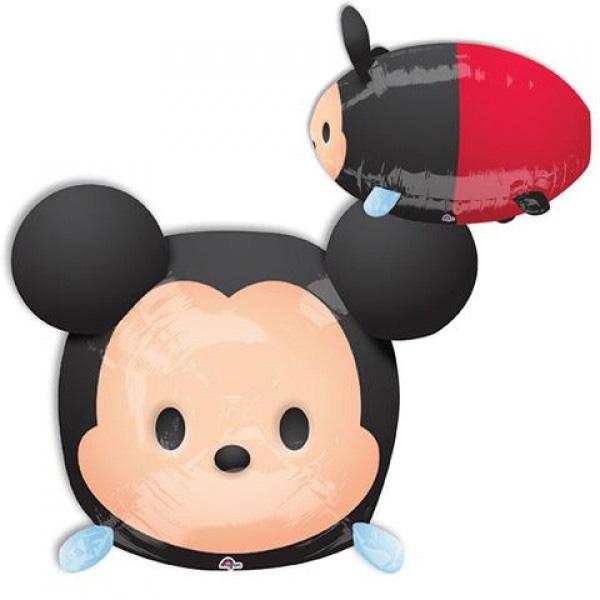 30*48cm鋁箔氣球(不含氣)-米奇Tsum Tsum
