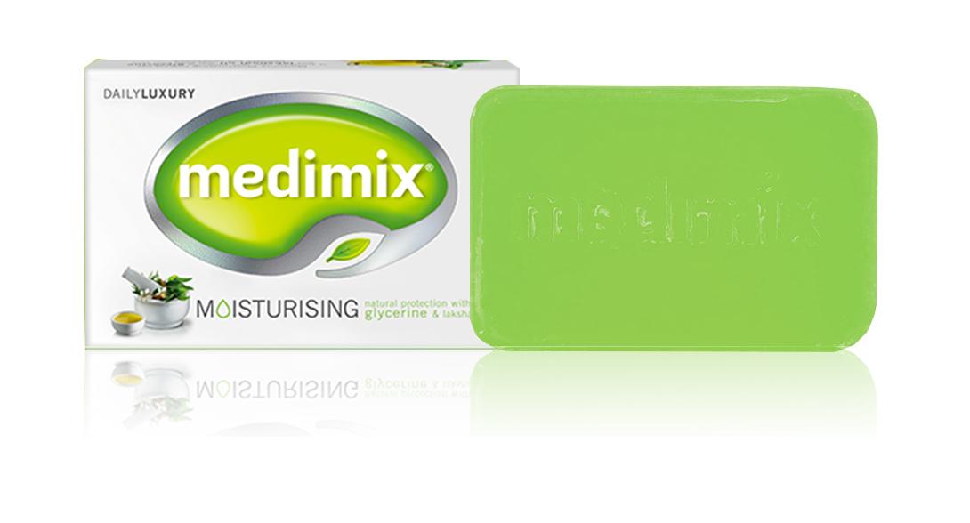 岡山戀香水~Medimix 美黛詩 印度綠寶石皇室藥草浴美肌皂125g~優惠價:39元