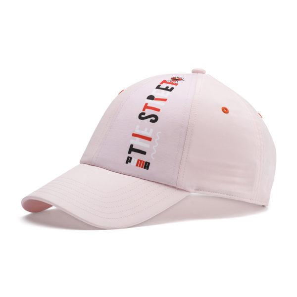 Puma Street 粉紅 兒童帽 芝麻街 老帽 運動帽 遮陽帽 運動 六分割帽 運動帽 02192202