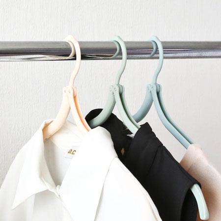 居家創意可折疊魔術旅行衣架攜帶式摺疊折疊戶外旅遊旅用防滑衣架晾衣架