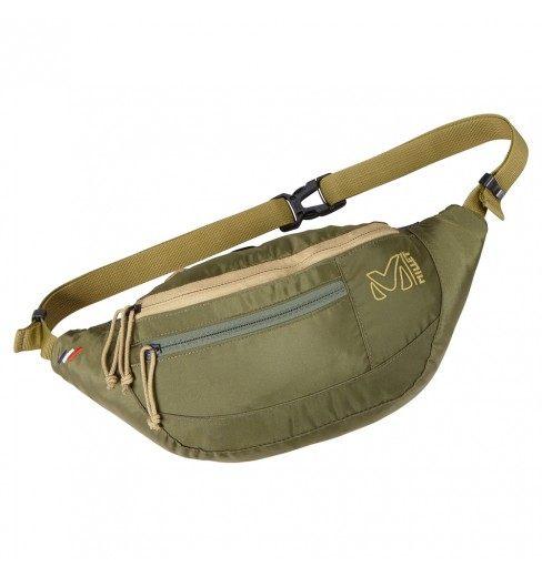 【山水網路商城】MILLET日系風格腰包 ~小米小米!輕便腰包 MIS 0482 草綠 男女兼用