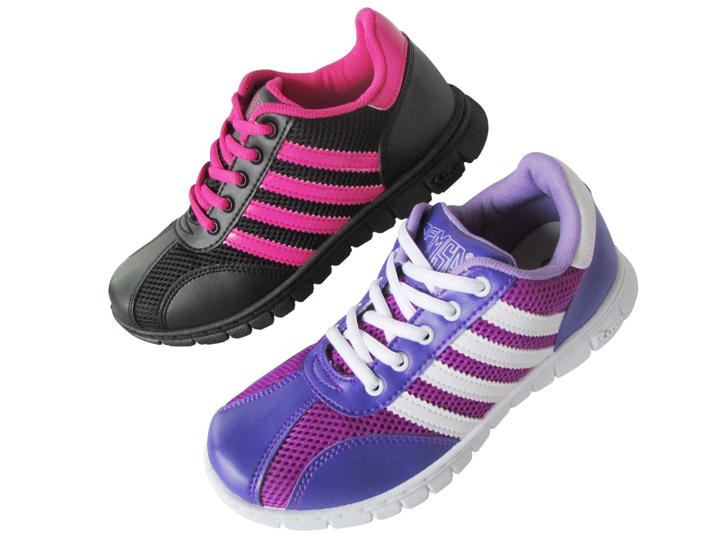 『雙惠鞋櫃』 ◆街頭風女運動休閒鞋◆台灣製造◆  (F6601) 白紫、黑桃