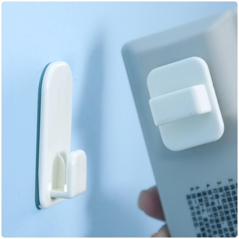 【遙控器掛鉤】2組4入 黏貼式遙控器收納掛勾 掛架 電視 冷氣 雜物 鑰匙