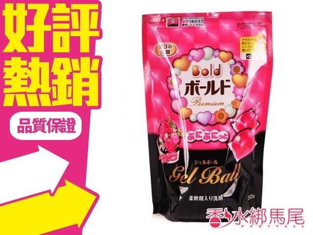 日本 寶僑 P&G 雙倍潔衣凝膠球 花香 袋裝 (500g/18顆入)◐香水綁馬尾◐