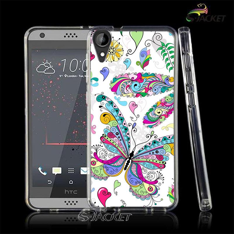 3C膜露露大彩蝶軟殼HTC Desire 10 Lifestyle手機殼手機套保護套