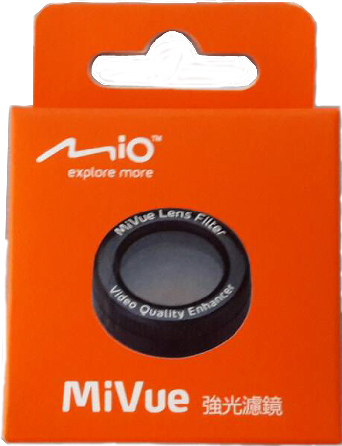 Mio MiVue系列行車紀錄器 專屬濾鏡 (CPL環形偏光鏡) 強光濾鏡