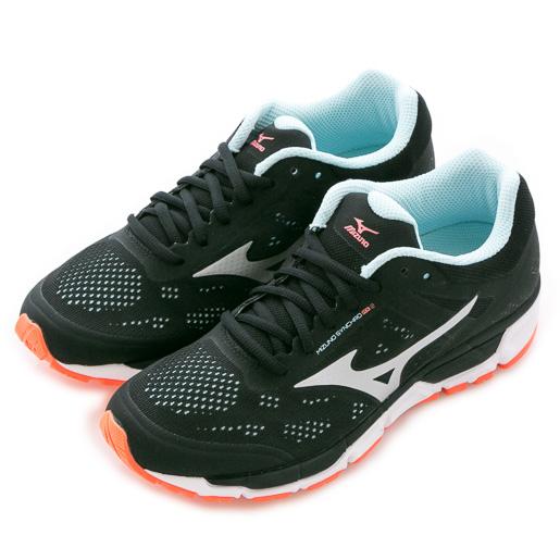 Mizuno 美津濃 SYNCHRO 女慢跑鞋  慢跑鞋 J1GF171904 女 舒適 運動 休閒 新款 流行 經典