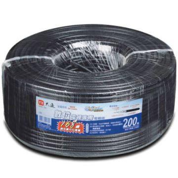 中將3C PX大通168編織數位電視專用電纜線5C-2V 168-200M
