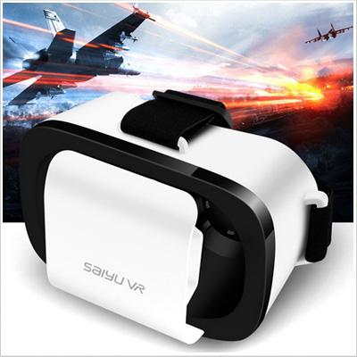 VR頭盔3D立體眼鏡虛擬實境穿戴裝置頭戴式遊戲智能眼鏡手機蘋果IOS安卓Android通用
