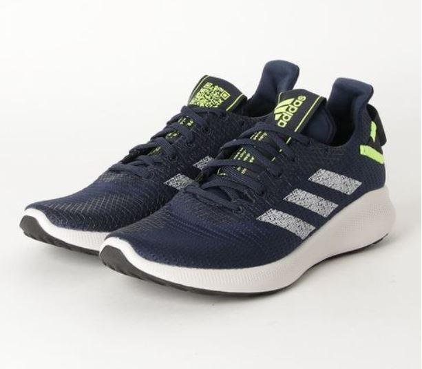 Adidas Sensebounce+Street M 男款深藍色運動慢跑鞋-NO.G27275