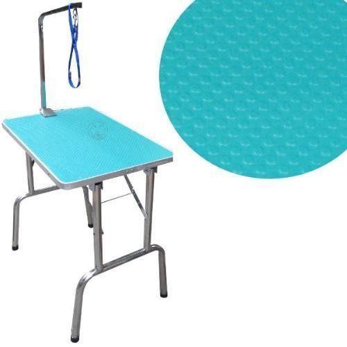ZOO寵物樂園美容師專用進口專業固定式美容桌附底網L號