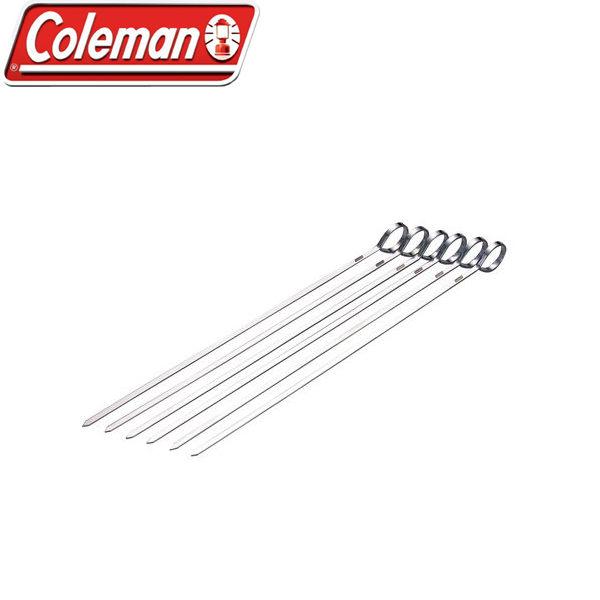 Coleman CM-9076不鏽鋼烤肉叉組6入一組