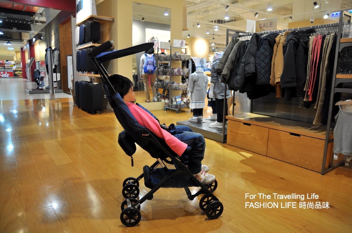 時尚品味嬰兒車出租6天日本口袋型推車三代POCKIT新生兒時尚推車出租