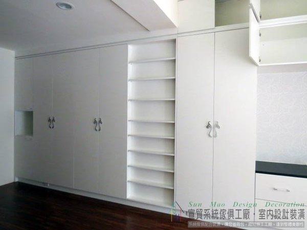 系統家具台中系統家具系統傢俱工廠台中室內裝潢公司系統櫃系統傢俱推薦-開門衣櫃sm0616