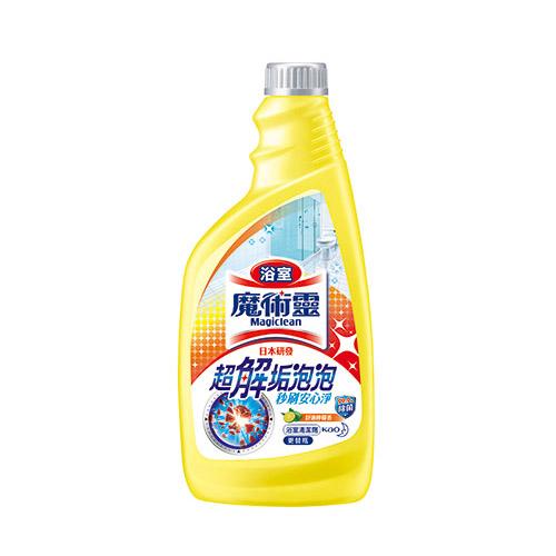 魔術靈浴室清潔劑舒適檸檬更替瓶500ML花王旗艦館