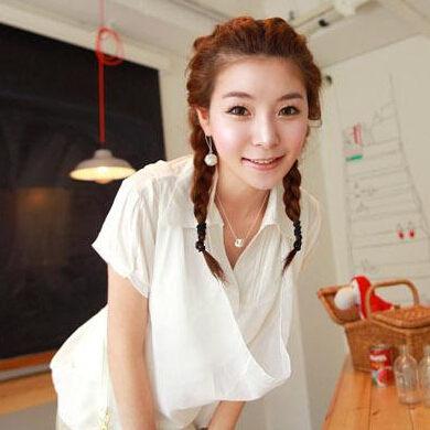 [Ministyle] 球球簍空 韓國 可愛飾品 球球 耳環 耳飾 毛衣練 項鍊 女 銀飾 球型 立體 可愛 百搭款