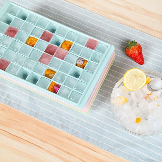 ♚MY COLOR♚ 多格冰格模具96格 冰箱 制冰盒 儲冰盒 夏暑 自製 冰塊 夏天 DIY【X53】