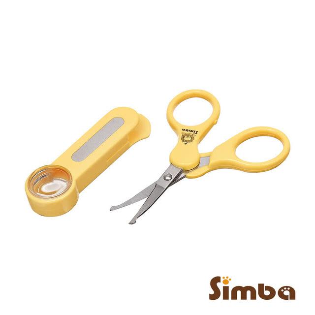 小獅王辛巴放大鏡嬰兒剪刀曲面002336