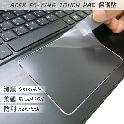 Ezstick ACER Aspire E5-774 G系列專用TOUCH PAD抗刮保護貼