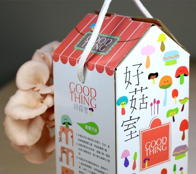 好菇室GOOD THING (內無太空包喔!!)只有盒子
