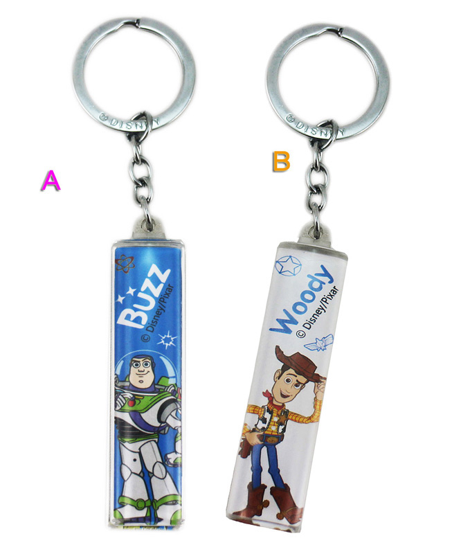 卡漫城玩具總動員鑰匙圈壓克力版Toy Story Woody Buzz巴斯書包掛飾吊飾裝飾品