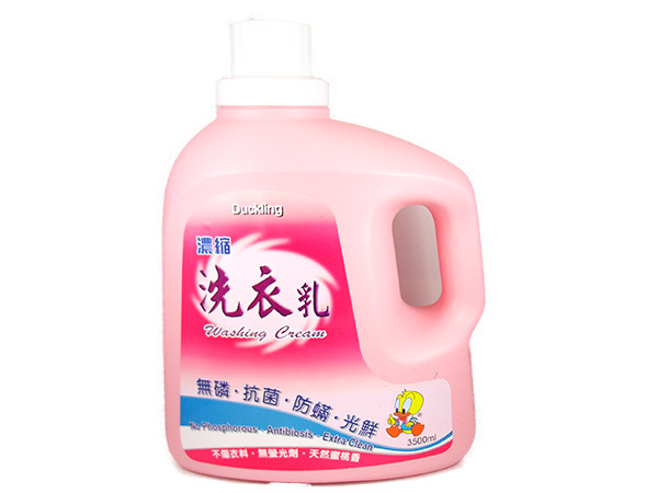 各大洗衣店指名-醜小鴨蜜桃香洗衣乳/3500ml/4桶/箱