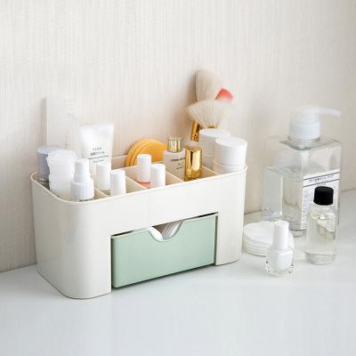 0729新品5折WaBao桌面化妝盒帶小抽屜收納盒Z03089