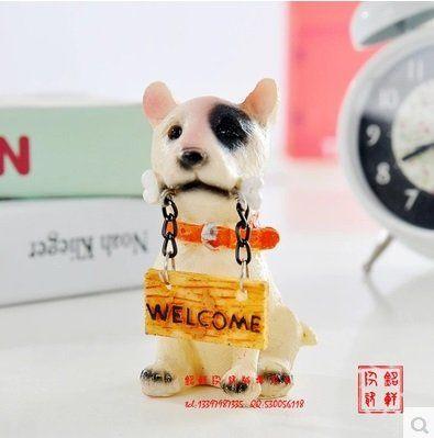 陶瓷寵物小狗玩偶公仔工藝品