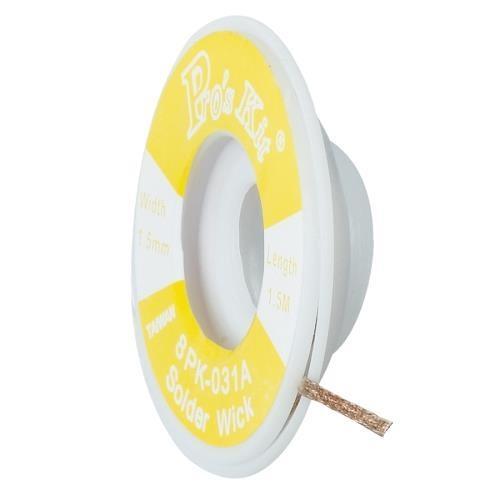Pro'sKit 寶工  8PK-031A  吸錫網線  (1.5mm*1.5米/8g)