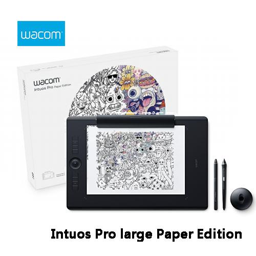Wacom和冠Intuos Pro large Paper Edition雙功能專業繪圖板PTH-860 K1-CX大尺寸觸控無線繪圖板