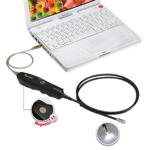 USB一體式電子內視鏡工業內視鏡工業蛇管攝影機視頻內窺鏡可錄影拍照8mm外徑鏡頭PST-1161
