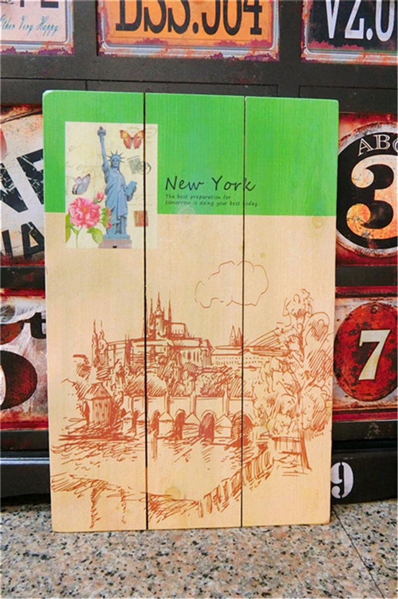 木版畫40X60-B美式鄉村凱旋門牆壁掛畫壁飾木框畫民宿居家布置絢寓居家