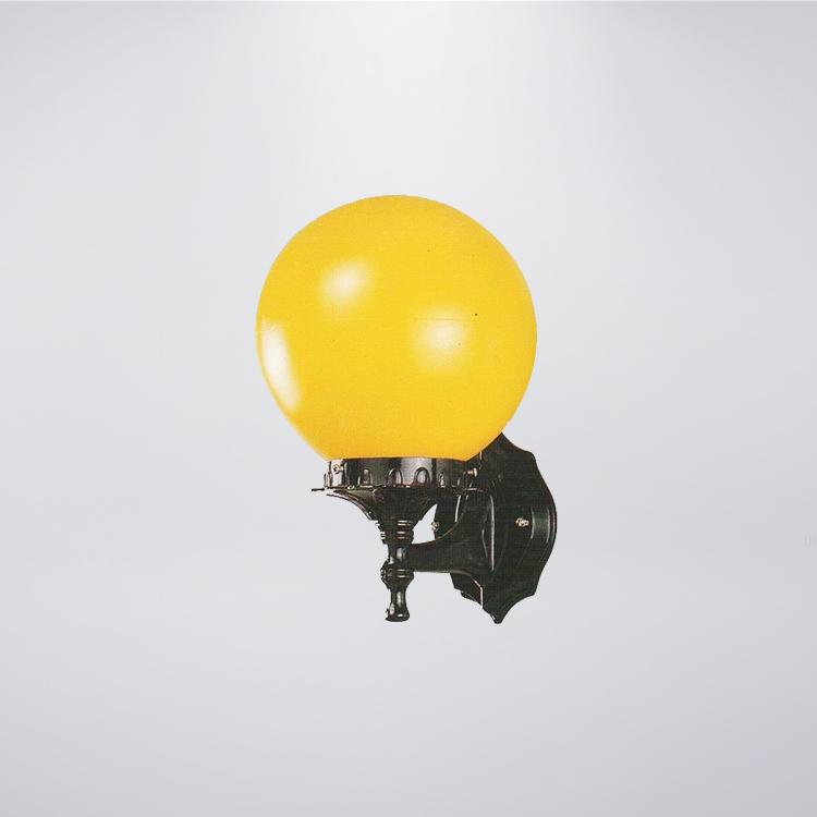 戶外壁燈 防水型 8吋PE球 黃、白燈罩 可搭配LED