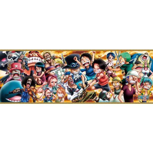 拼圖總動員PUZZLE STORY ONE PIECE CHRONICLES III日系Ensky海賊王One Piece 352P橫幅