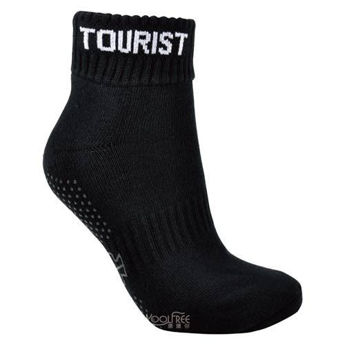 奇買親子購物網旅行家koolfree抗菌排汗導氣毛圈止滑瑜珈襪