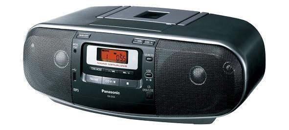 Panasonic國際牌手提USB CD收錄音機RX-D55
