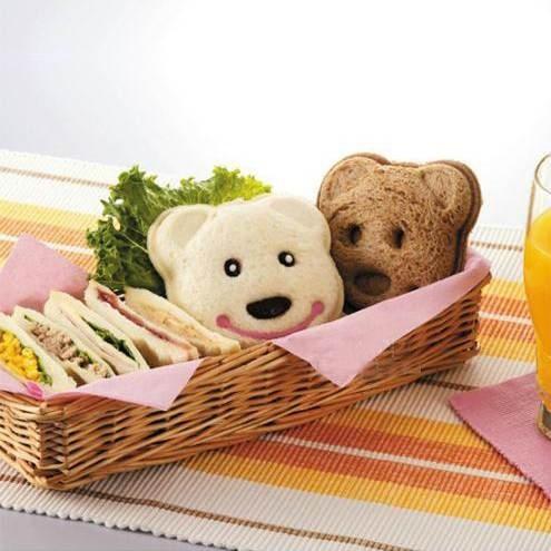 【發現。好貨】可愛黃色小熊造型DIY口袋三明治模具/吐司壓模製作器 飯模