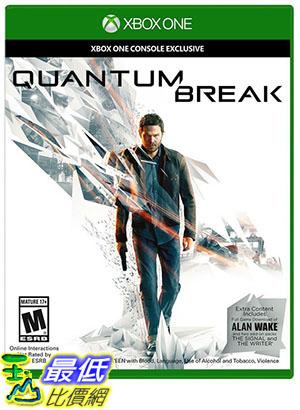 玉山最低比價網預購2016 4 5 XBOX ONE量子裂痕Quantum Break中文版