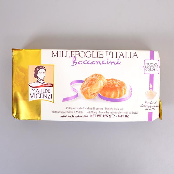 義大利維西尼奶油夾心酥餅125g賞味期限:2018.01.22