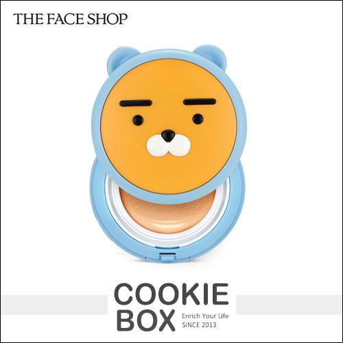 韓國 THE FACE SHOP x HOODIE RYAN 氣墊粉餅 15g 限量聯名 底妝 萊恩 *餅乾盒子*