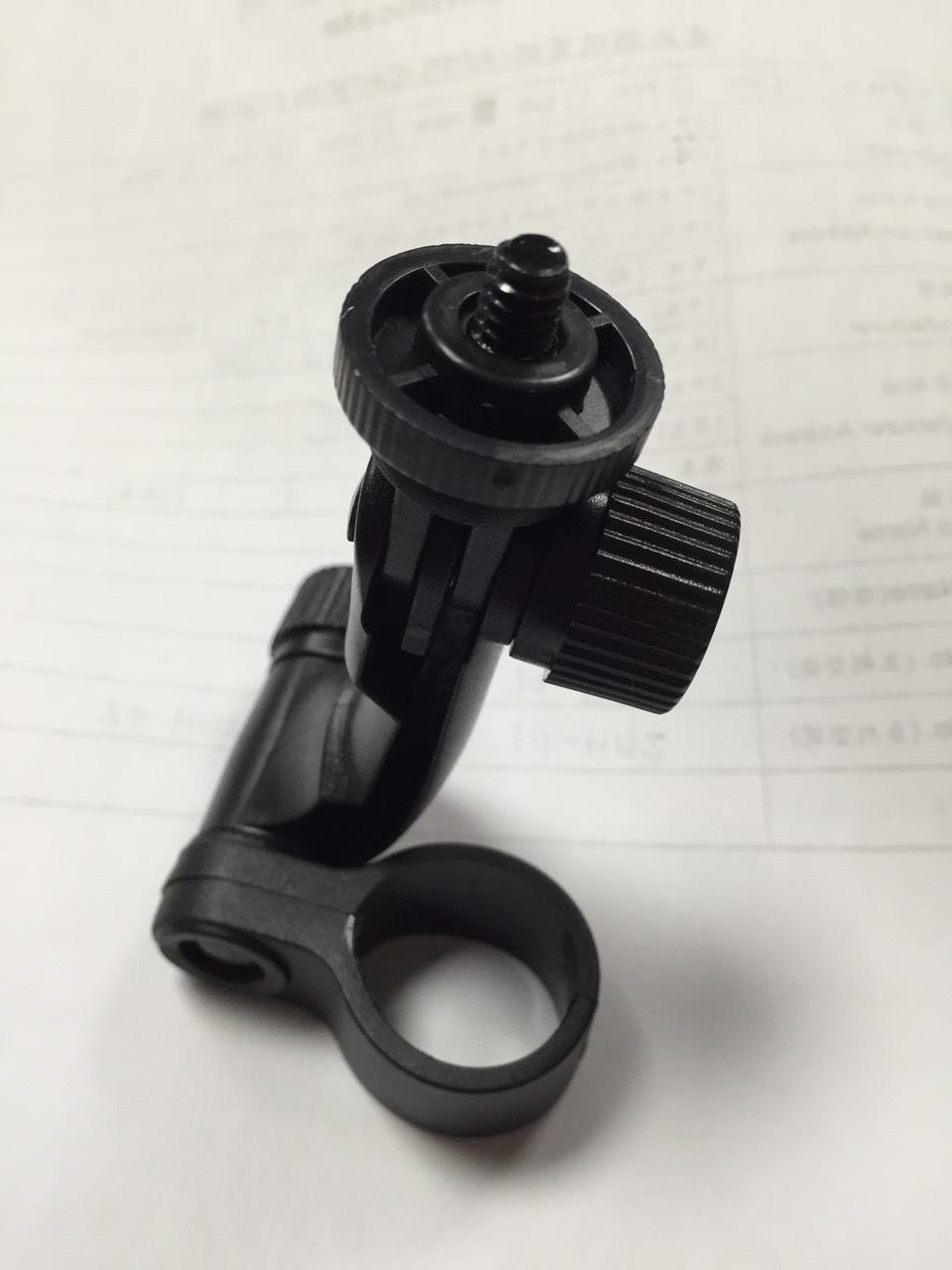 行車記錄儀支架相機雲台DV後視鏡支架鎖螺絲支架~不傷隔熱紙