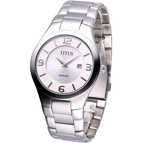 TITUS鐵達時紳士時尚腕錶-黑06-1808-001