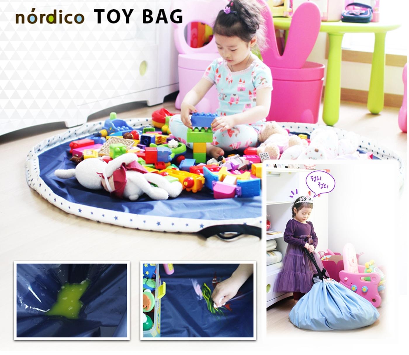 韓國進口懶人媽媽多功能餐墊玩具收納袋