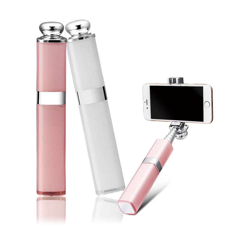 超迷你口紅自拍竿線控手機自拍竿BB0027 iphone7三星皆可使用自拍桿自拍杆