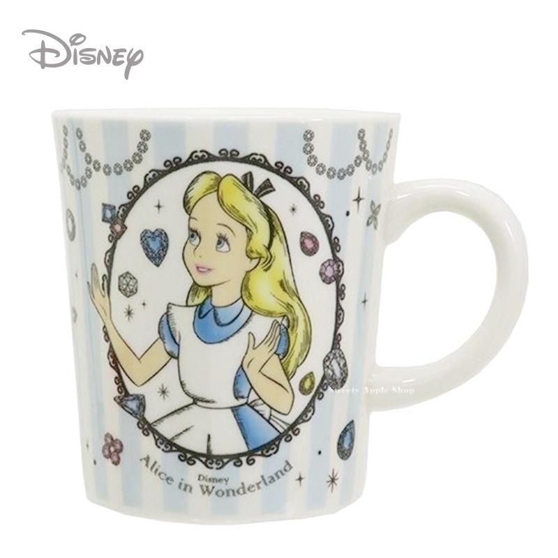 日本限定迪士尼愛麗絲馬克杯湯勺組