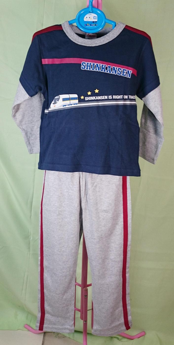 【震撼精品百貨】Shin Kan Sen 新幹線~假兩件衣褲